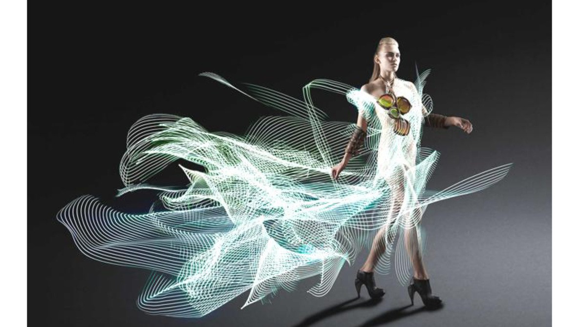 7 Unbelievable Dresses Made Entirely of Light