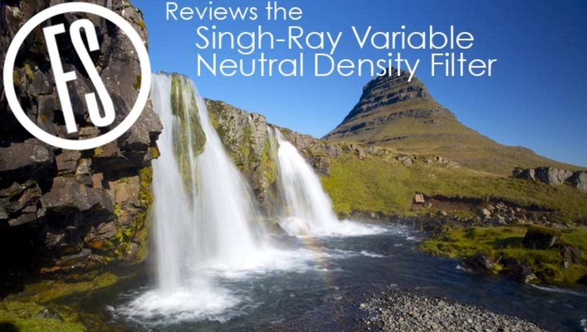 how to use a variable neutral density filter in photography