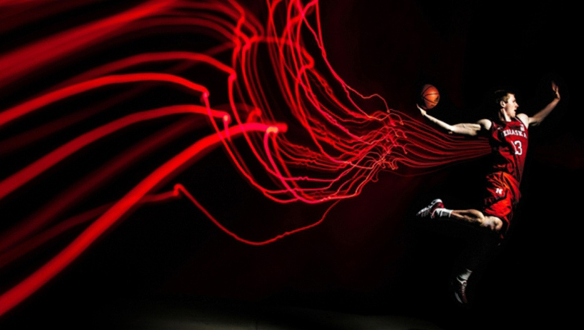 Incredible UNL Basketball Portraits By Wyn Wiley