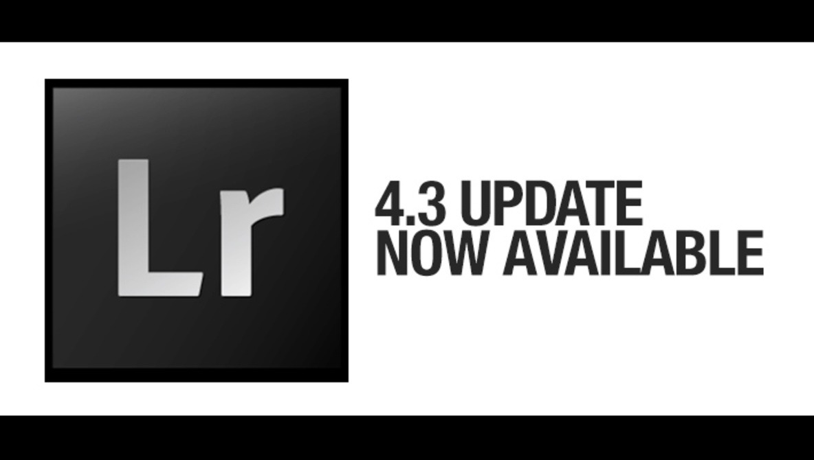 Lightroom 4.3 Update Now Available