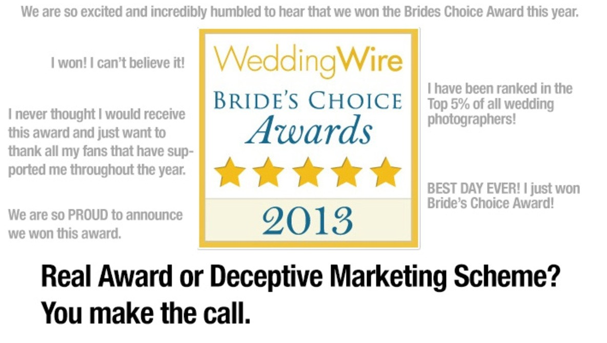 What is Really Behind WeddingWire\'s Bride\'s Choice Award? | Fstoppers