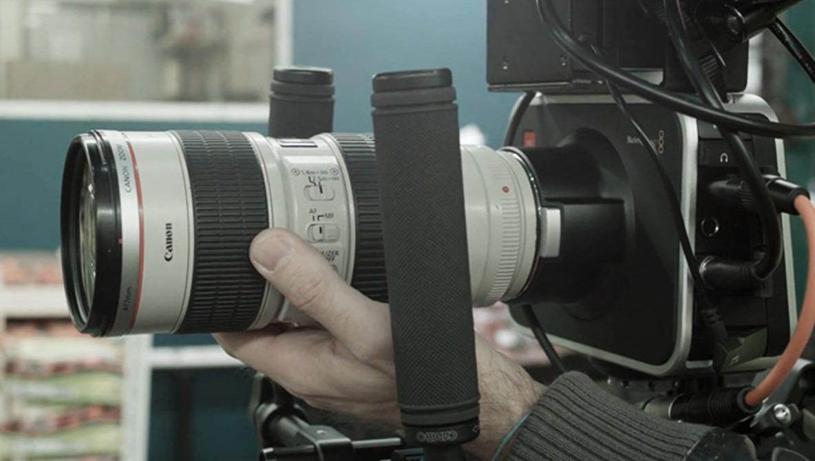 Using Canon EF Lenses On The BlackMagic Cinema Camera To