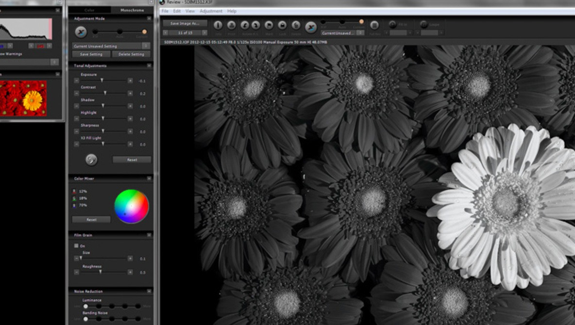 Sigma introduces photo pro 5 5 software focus on monochrome
