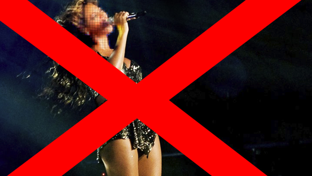 Beyoncé's Publicist Wants To Erase Super Bowl Photos From The Internet