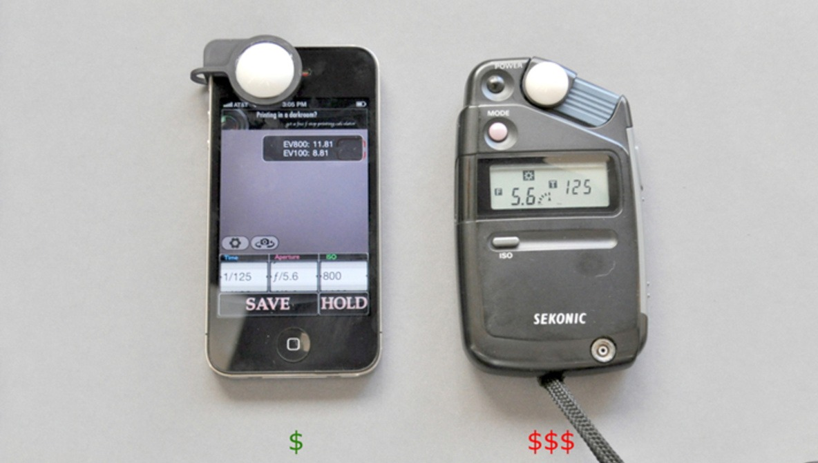 Light Meter For The IPhone Good Looking
