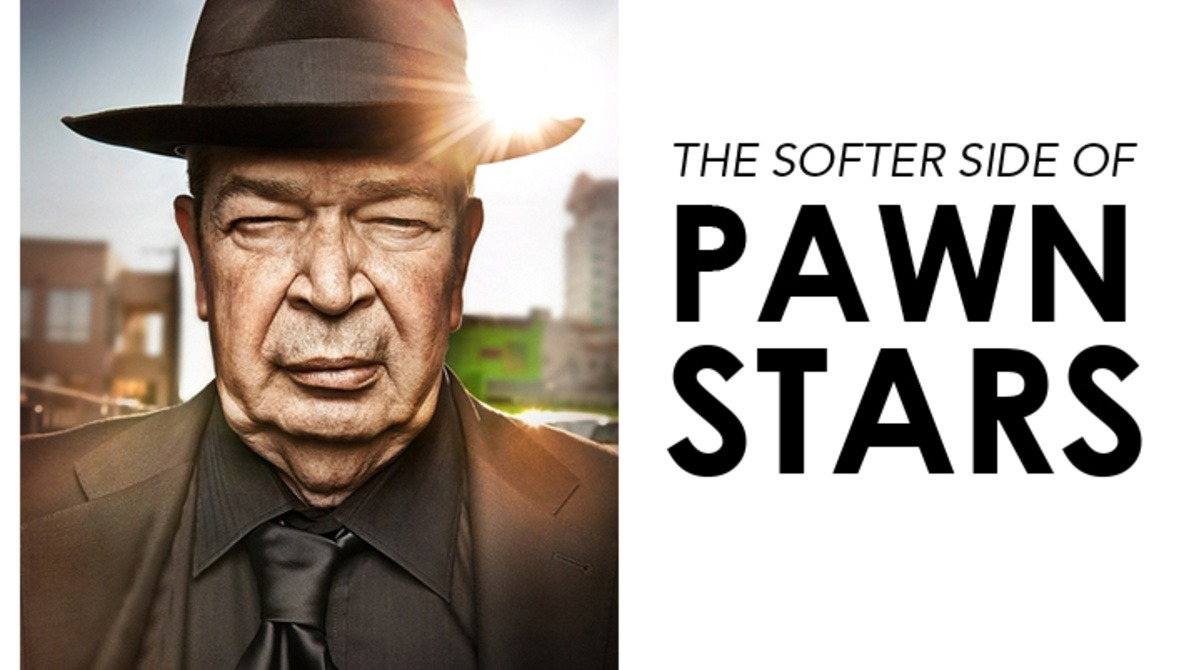 Photographing Richard Harrison: The Softer Side of Pawn Stars