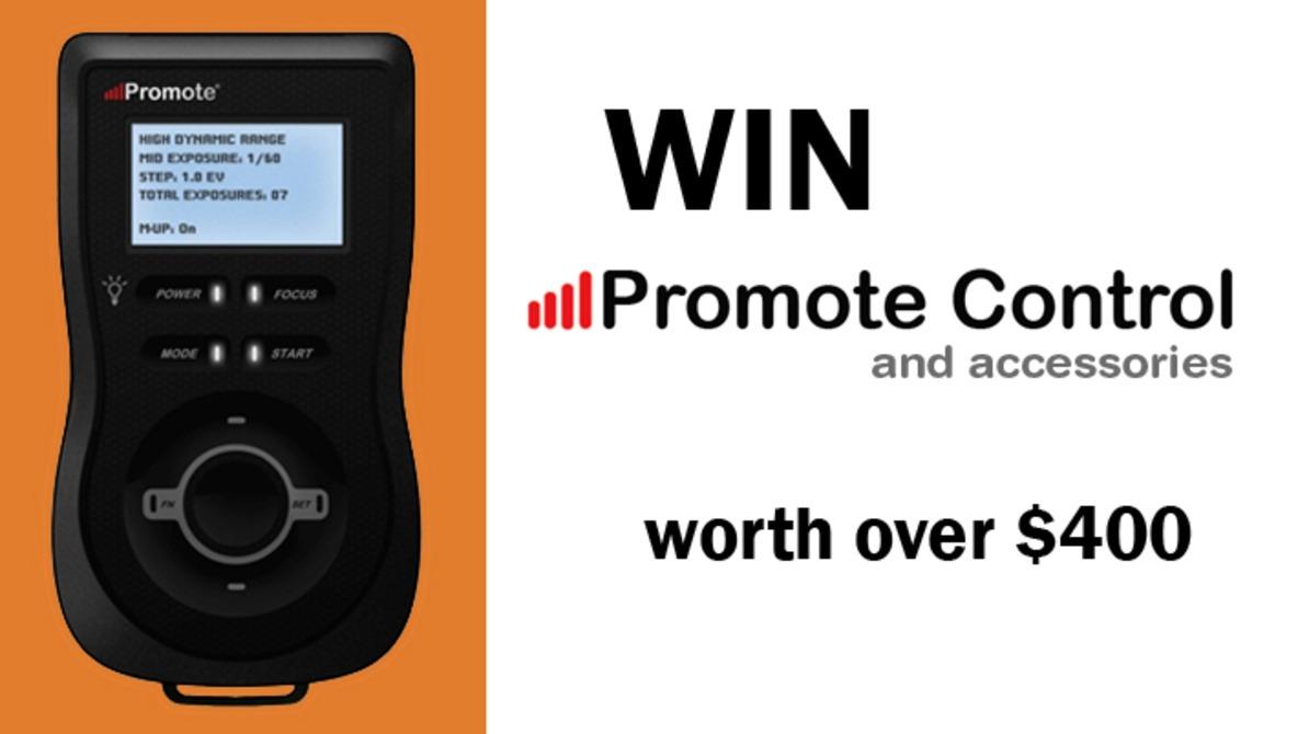 Win over $400 in Promote Control [Digital SLR Camera Remote Control] + Accessories!