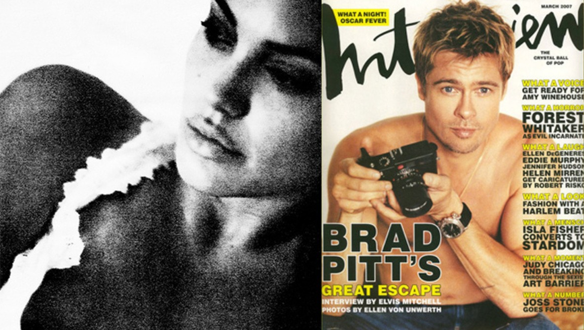 Brad Pitt Photographs Angelina Jolie: Results Are Impressive