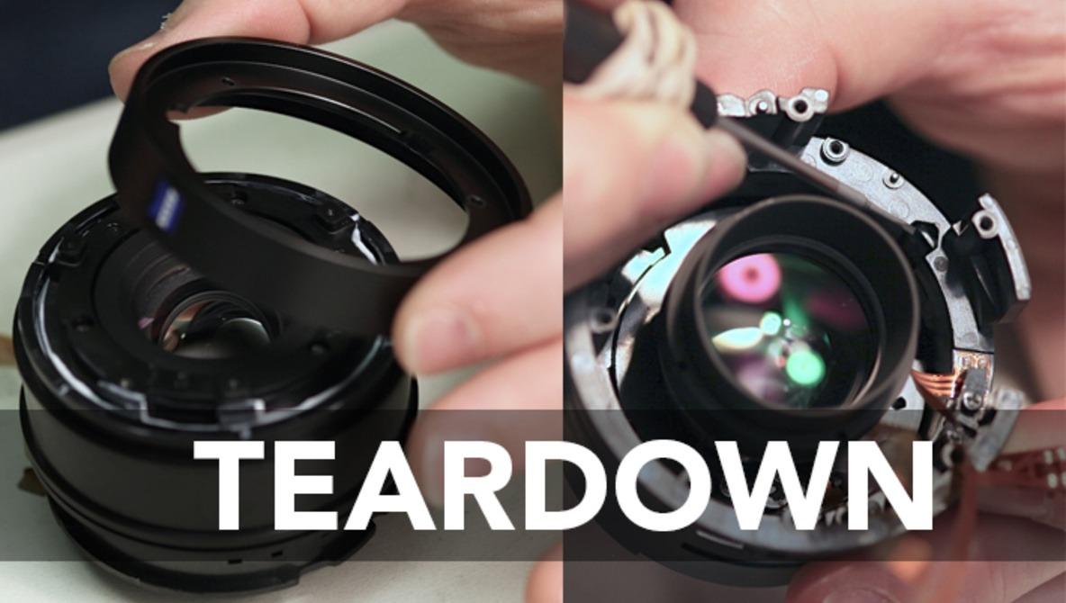 LensRentals Tears Apart the Zeiss 32mm Touit Lens