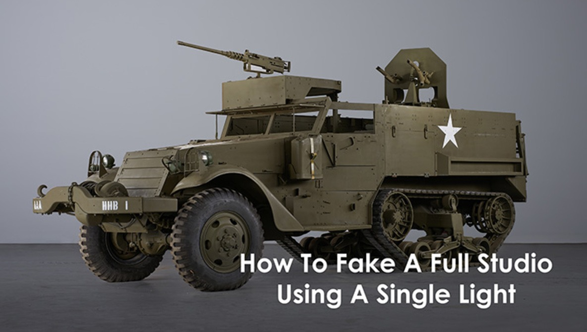 How To Fake A Full Studio Using A Single Light