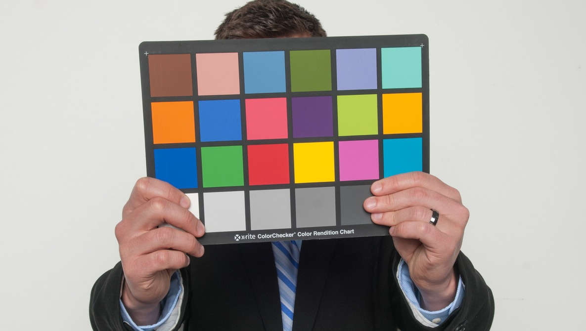 Using A Color Checker Chart