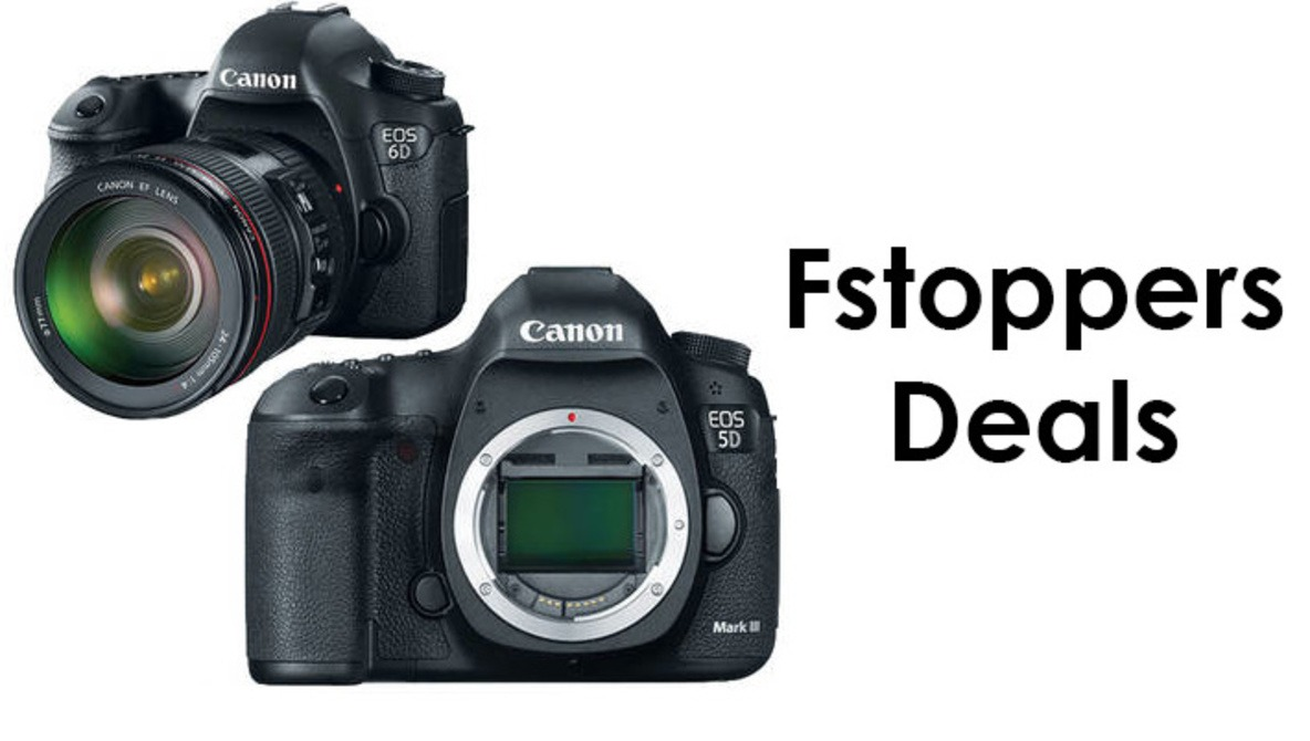 Huge Savings on Canon 5D Mk III and 6D!