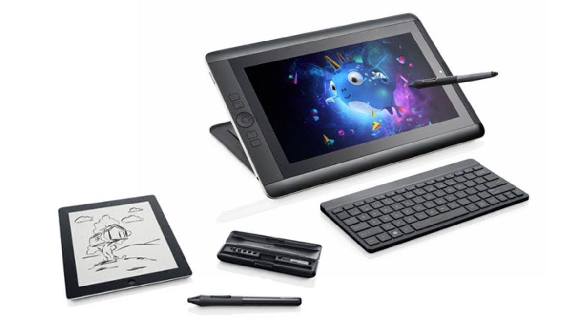 Wacom Announces Two Portable Cintiq Tablets And A Pressure Sensitive iPad Stylus