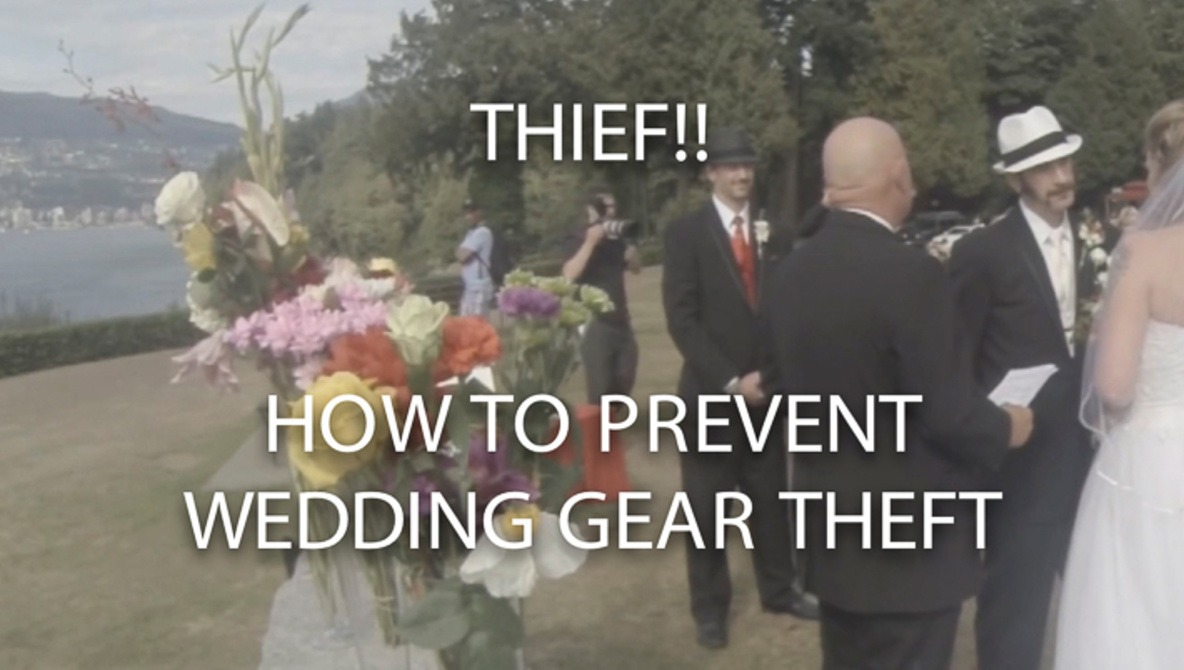 Photographer's Camera Gear Stolen At Wedding: What Can We