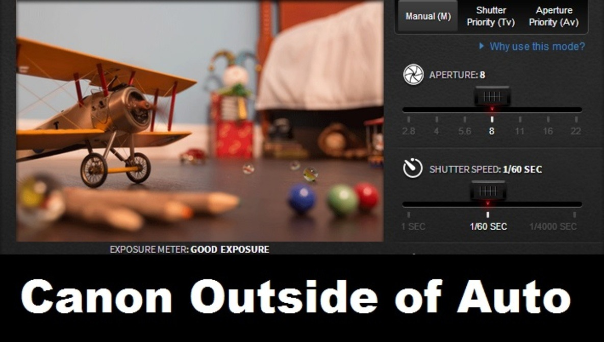Best Online Tool I've Seen for Learning Manual Photography (Canon)