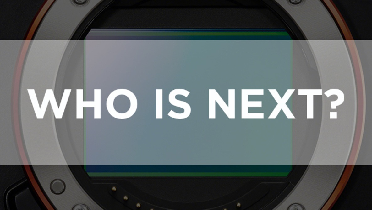 With Sony's New Full Frame on the Market, Who is Next?