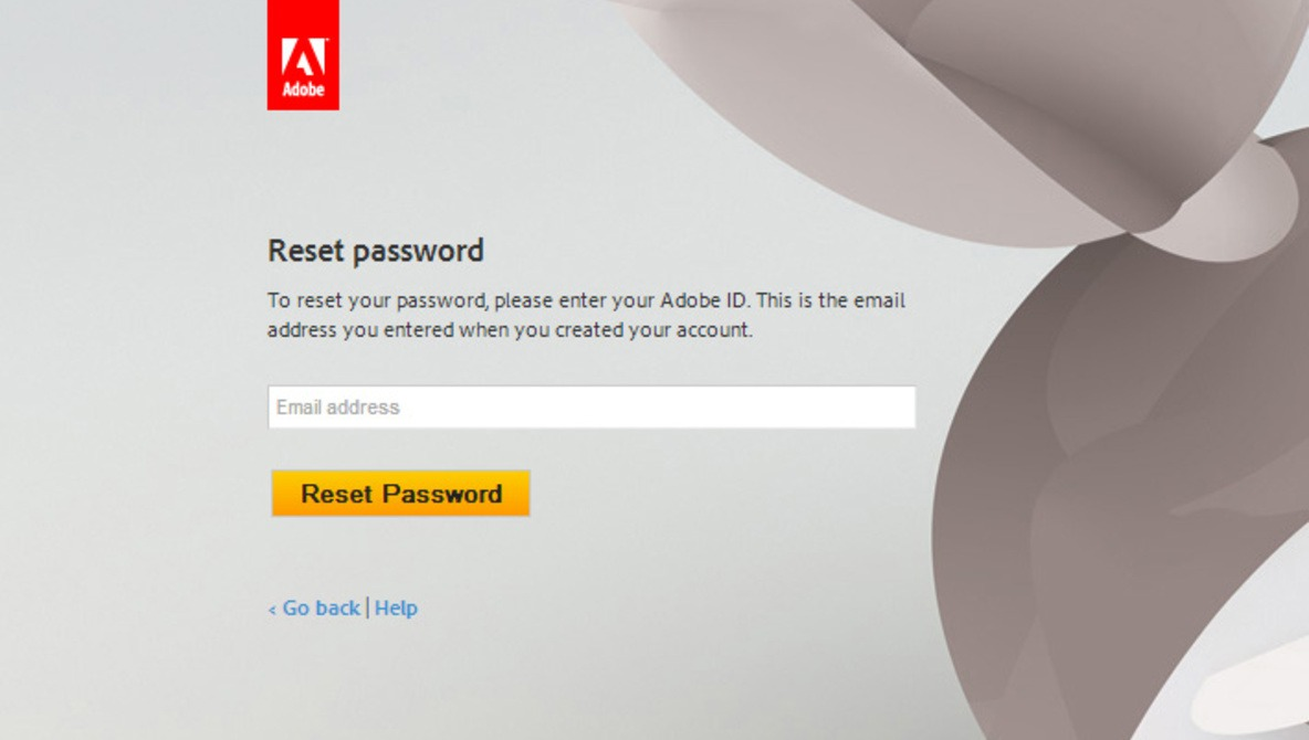 Here's The Link to Reset Your Adobe Password | Fstoppers
