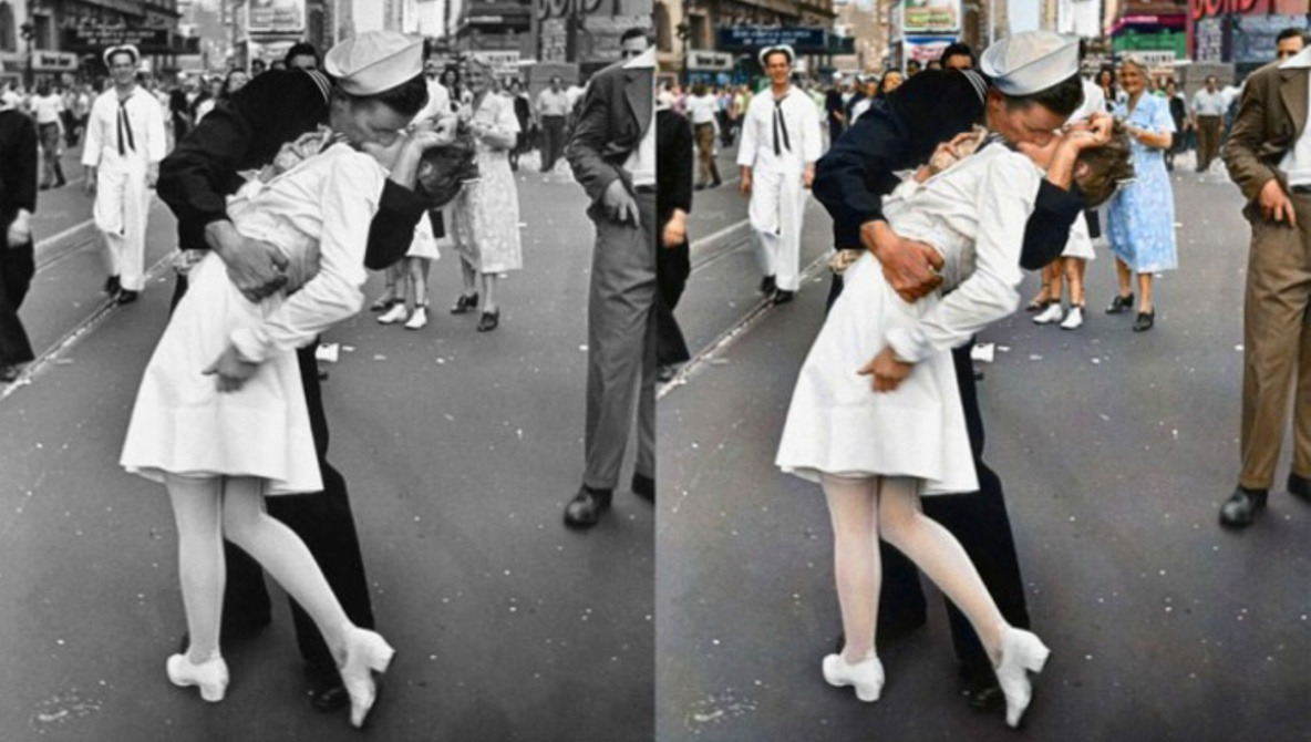 Famous B&W Photos Masterfully Brought To Life with Color | Fstoppers