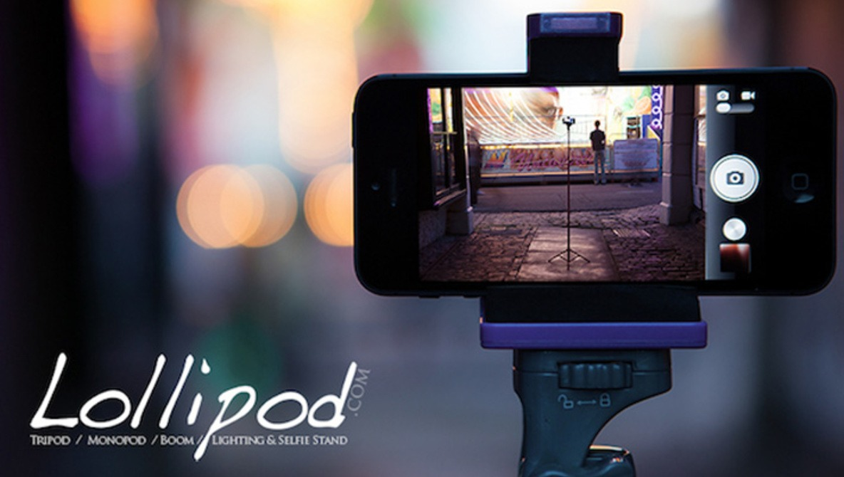 The Lollipod: An All-in-One Tri-Mono-Selfie-Boom-Pod