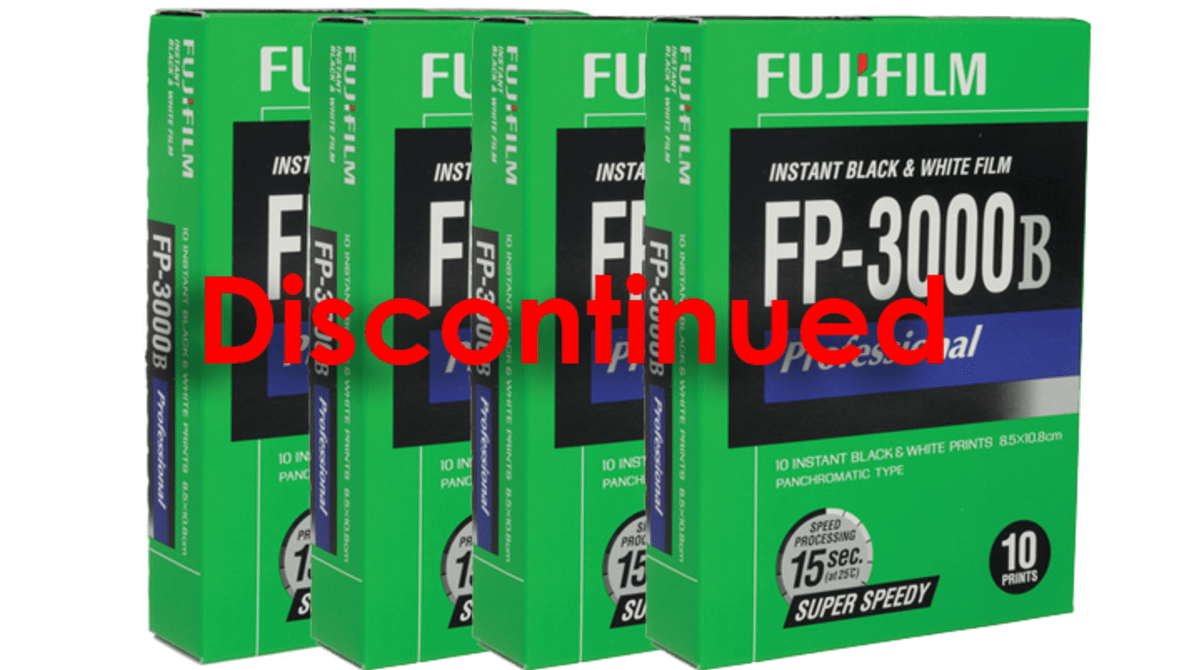 The Discontinuation of Fuji 3000b Instant Film by Fujifilm