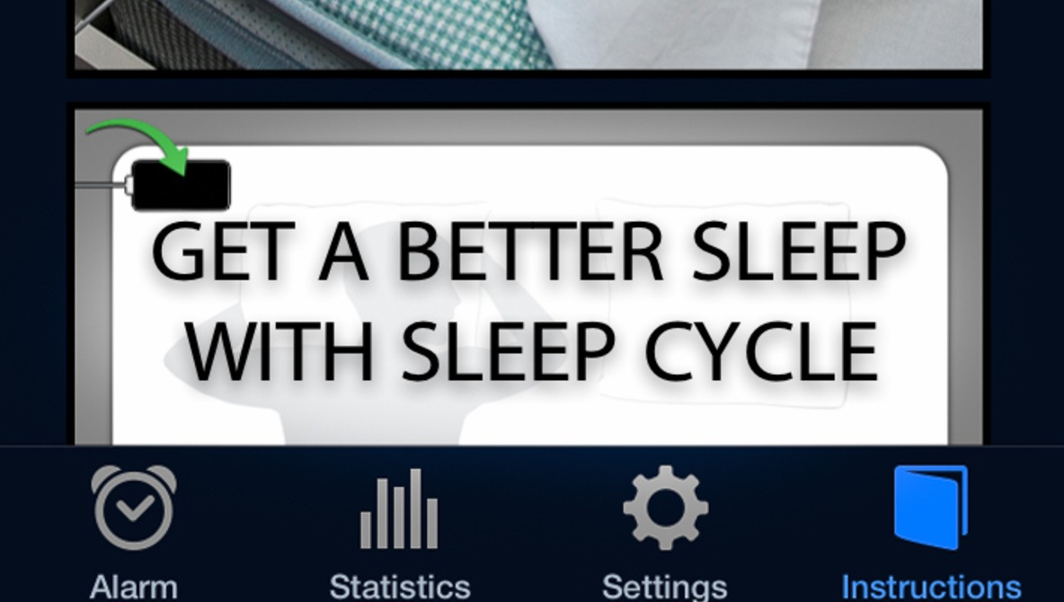 A Good Night's Sleep With Sleep Cycle App