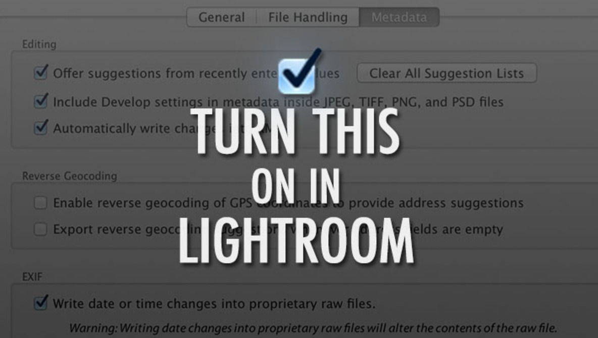 The Most Important Setting in Lightroom is Set To Off By Default