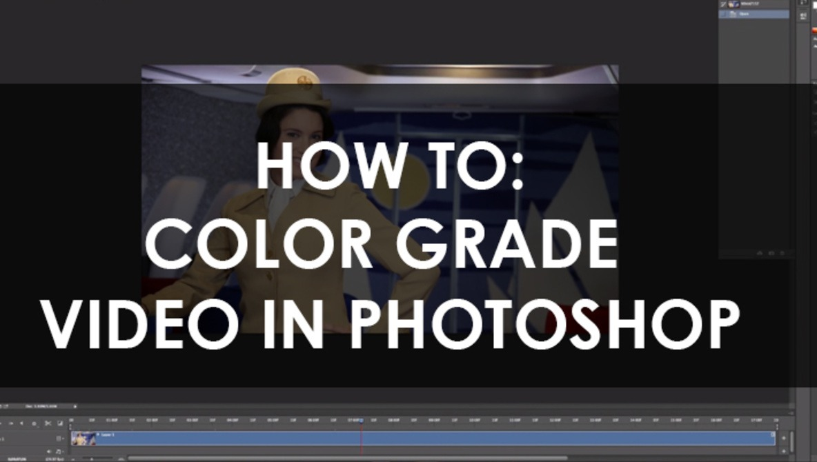How to Color Grade Video in Adobe Photoshop