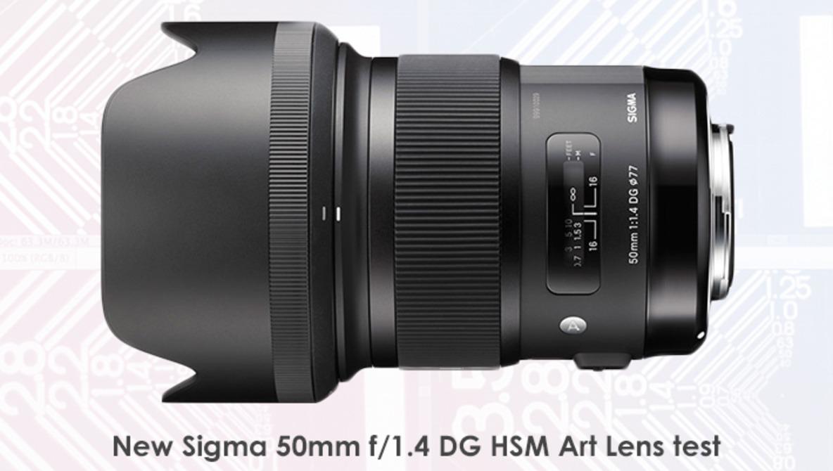 New Sigma 50mm f/1.4 DG HSM Art Lens Test