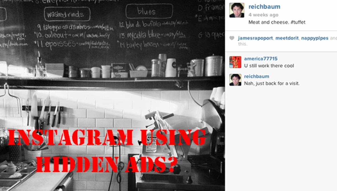 Instagram's Hidden Advertisements