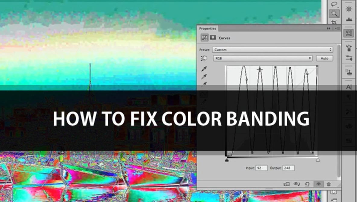 Learn How To Fix Color Banding Using Just One Simple Tool | Fstoppers