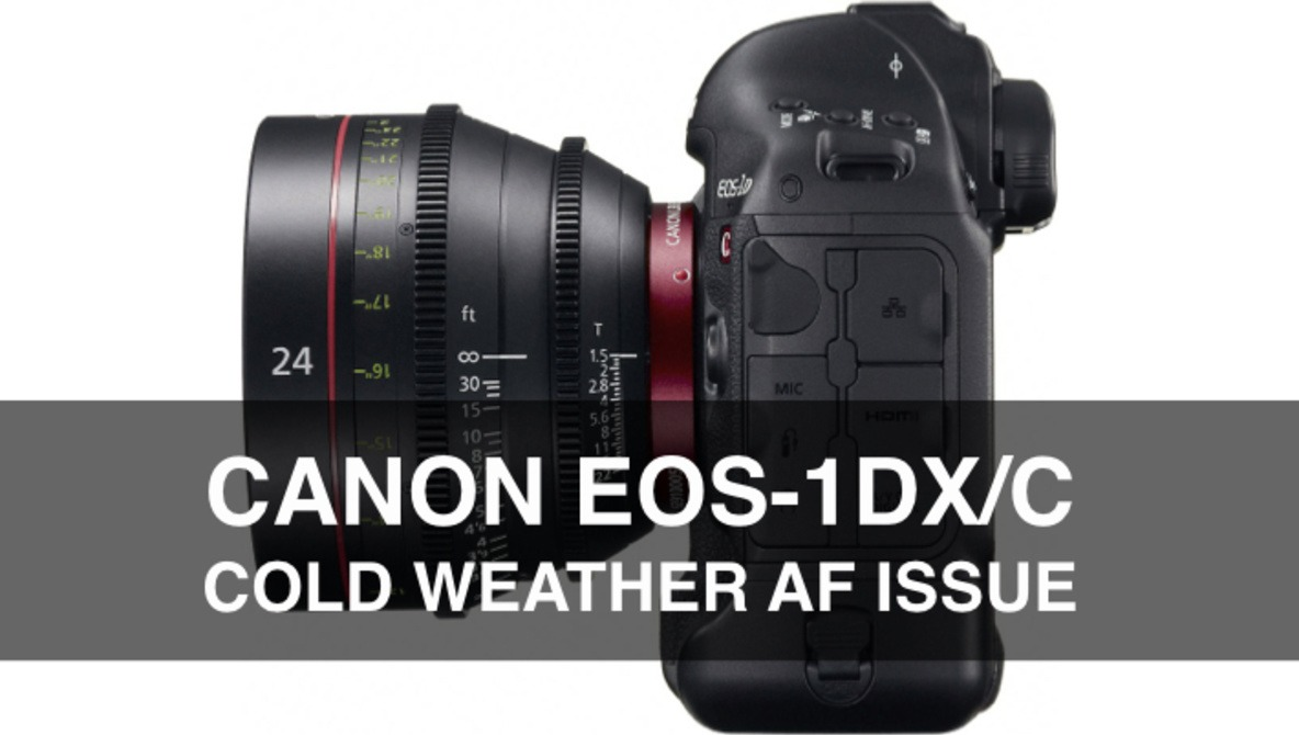 Confirmed: Canon EOS-1DX / C Cold Weather AF Issue
