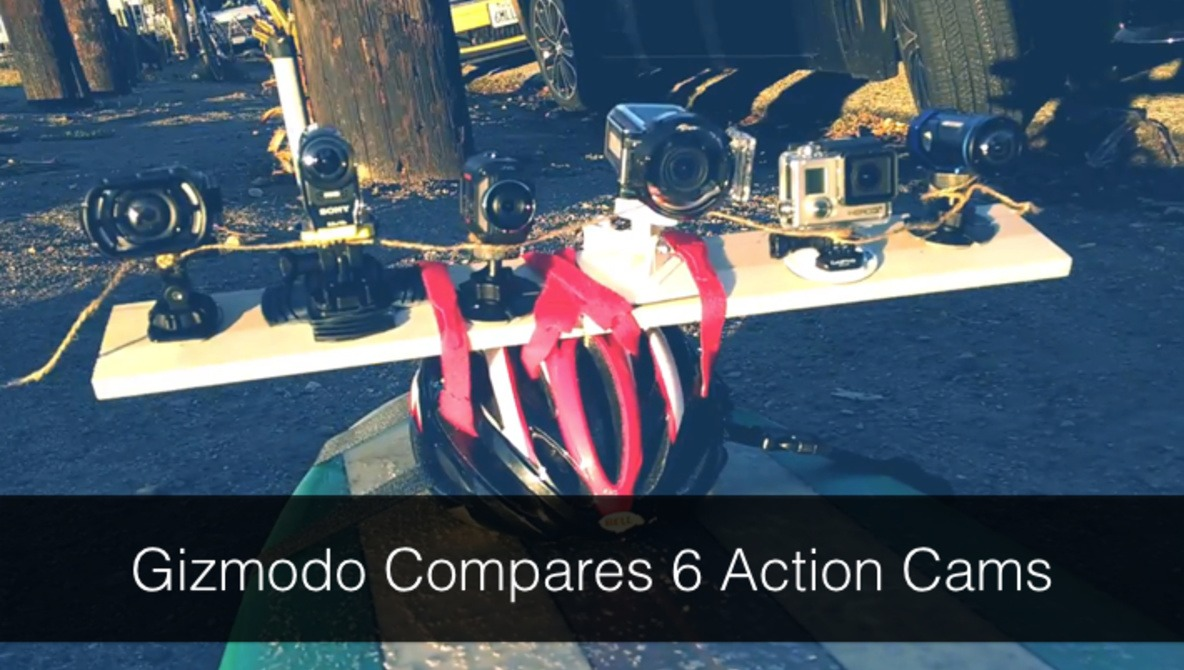 Gizmodo's Side by Side (by side, by side, by side, by side