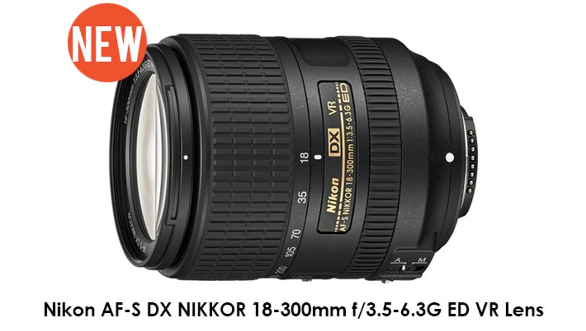 Nikon Announces New AF-S DX NIKKOR 18-300mm f/3.5-6.3G ED VR Lens