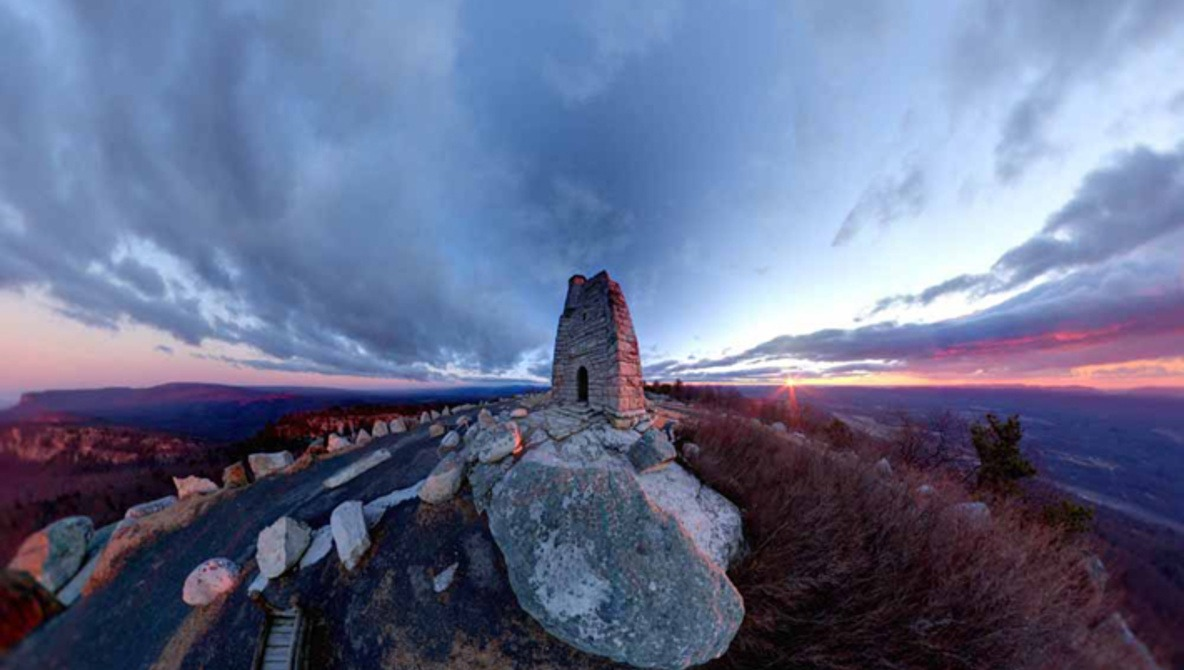 """Alternative Perspectives"" Series Features City and Landscapes in 360-Degree View"