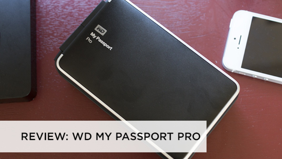 The WD My Passport Pro Thunderbolt HDD is Beastly in Weight