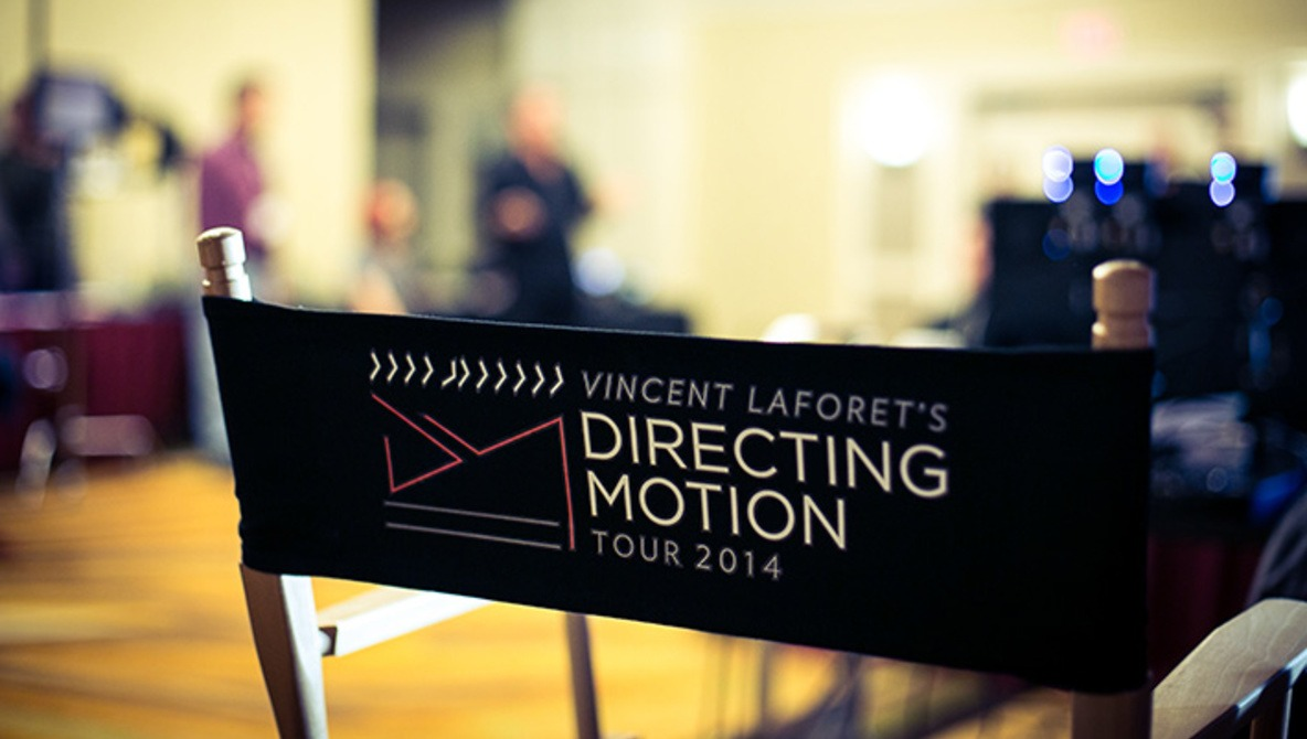 "Vincent Laforet's ""Directing Motion"" Workshop Review"