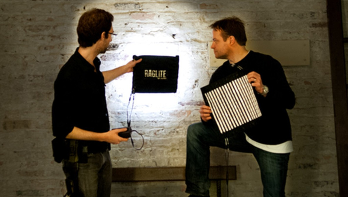 """RagLite"" Is A Flexible, Waterproof, And Portable LED Lighting Concept"