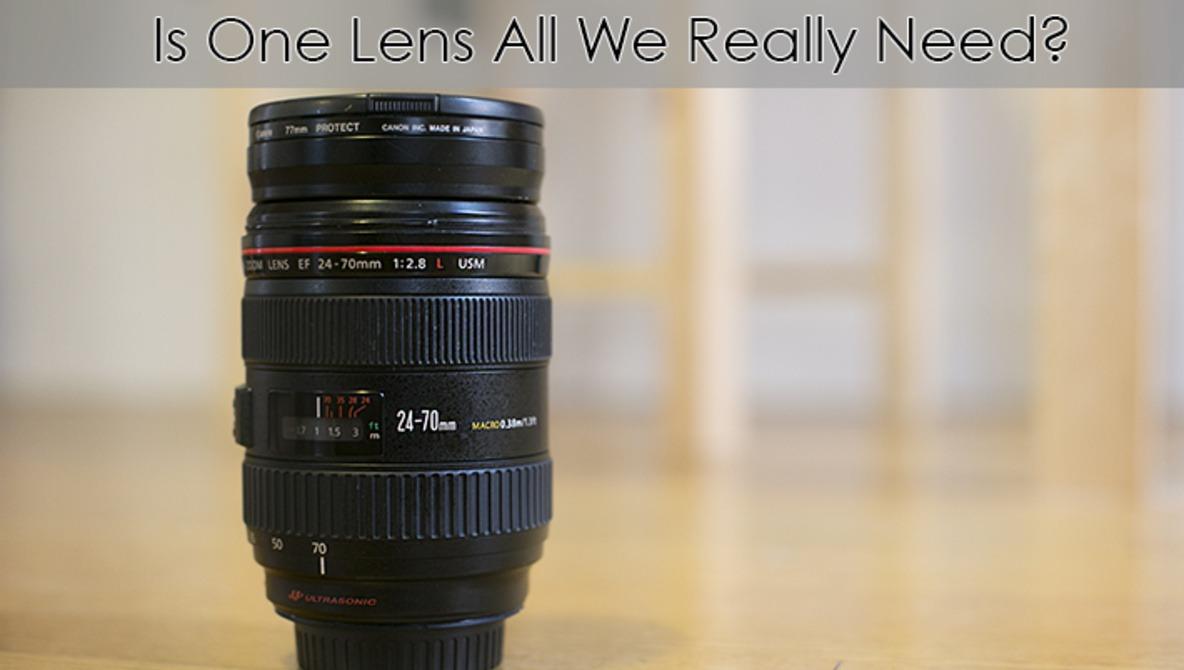 How Many Lenses Do We Really Need?