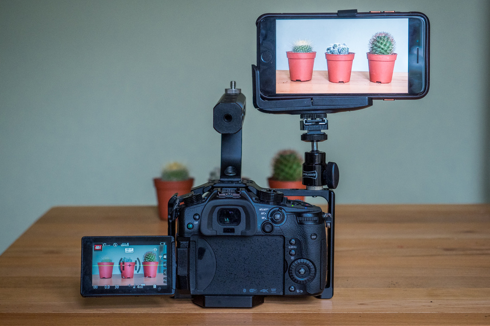 How to Use Your iPhone as a Monitor With the Panasonic GH5