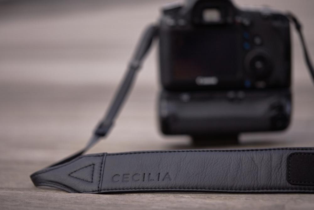 Fstoppers Reviews the Cecilia Black Leather Camera Strap