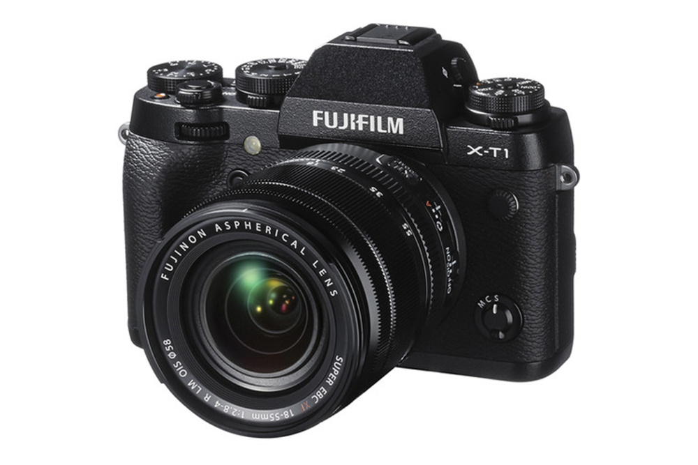 Half Off Fujifilm X-T1 Mirrorless Digital Camera with 18-55mm Lens Today Only