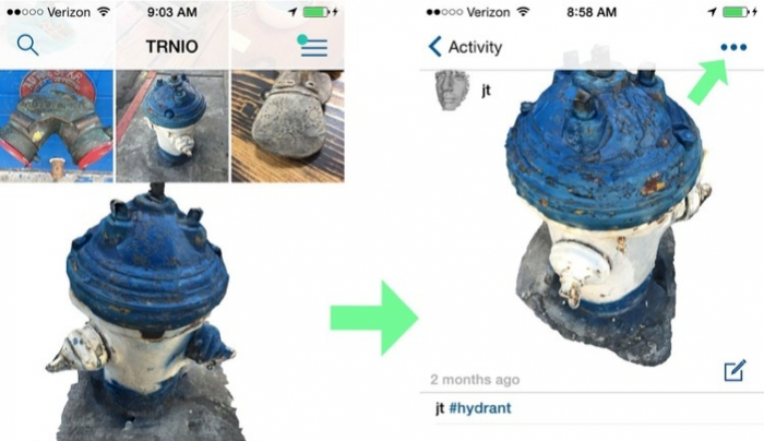 Trnio Turns Your IPhone into a 3D Scanner