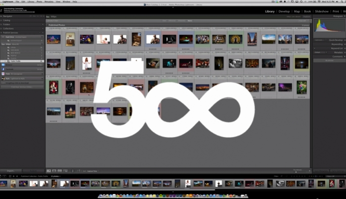 Easily Upload Your Images to 500px via this Lightroom Plugin