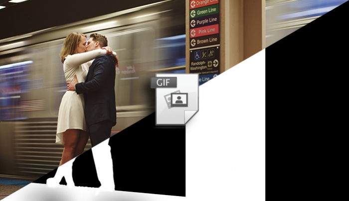 Animated GIF Wedding Photography is a Thing and It's Beautiful