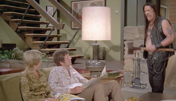 House Stalking The Brady Bunch House Source · Behind The Scenes Of A  Snickers Commercial Made For Super Bowl