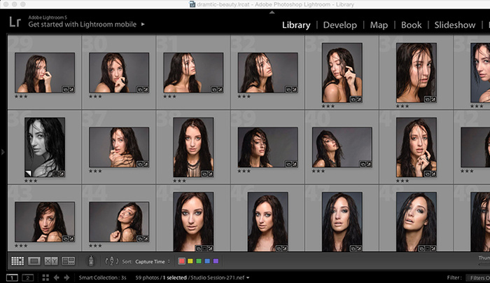 Dramatic Beauty Tutorial Part 2: Preparing Your Image for Retouching Using Lightroom and Camera Raw