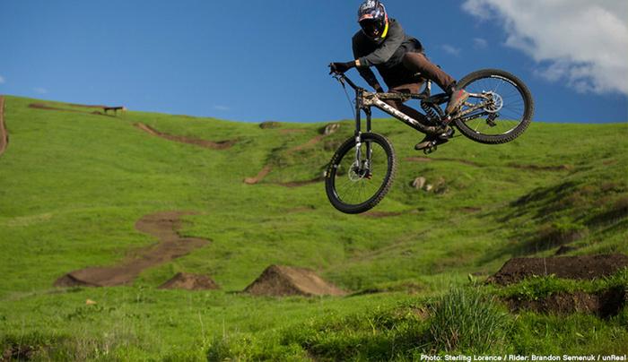 Can You Guess How This Amazing Single Shot Mountain Biking Run Was Filmed?