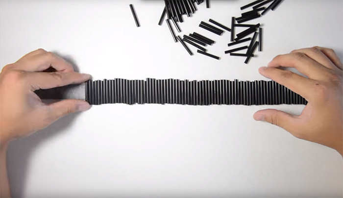 A Faster Method For Making Your Own Speedlight Straw Grid