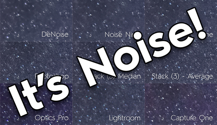 The Ultimate Comparison of Nine Noise Reduction Methods for Night Photography