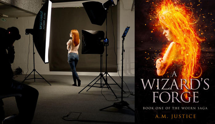 Book Cover Photography Guide ~ The photography and design process for a fantasy book
